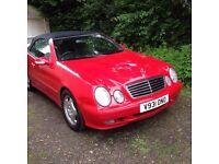 Mercedes convertible clk230