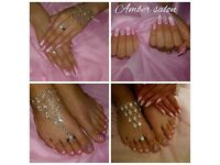 40% off for new clients Manicure Pedicure Shellac Gel Nails Extension Acrylic Gel in Leytonstone