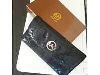 Michael Kors Fullton purse with original box