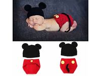 MICKEY MOUSE OUTFIT NEWBORN