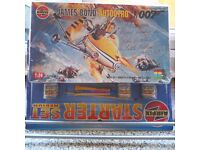 Vintage Airfix Humbrol period 1:24 James Bond Autogyro complete in box and sealed bag