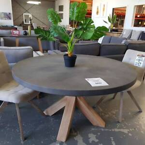 """""""ABBEY"""" ROUND CONCRETE DINING TABLE Epping Whittlesea Area Preview"""