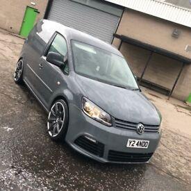 Nardo Grey VW Caddy Van