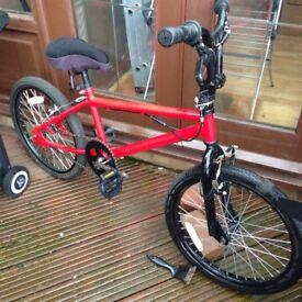BMX STYLE BIKE RED