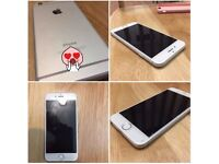 selling 16 gb iphone6 silver colour unlock