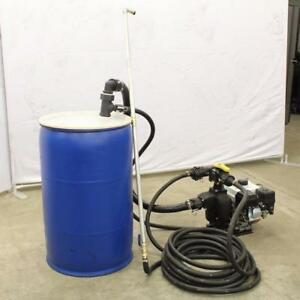 New Asphalt Driveway Sealing Unit Spray Direct from 55 Gallon Drum with Honda Engine Start your own business today