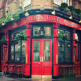 Part-time Bar Staff required at The Golden Eagle Pub, Central London
