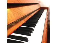 Modern Studio Upright Piano for sale THE PIANO PAVILION