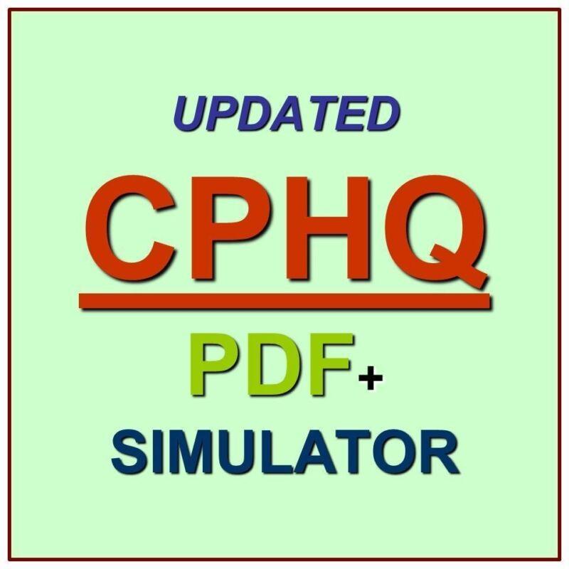 NAHQ Certified Professional in Healthcare Quality CPHQ Exam QA PDF+Simulator