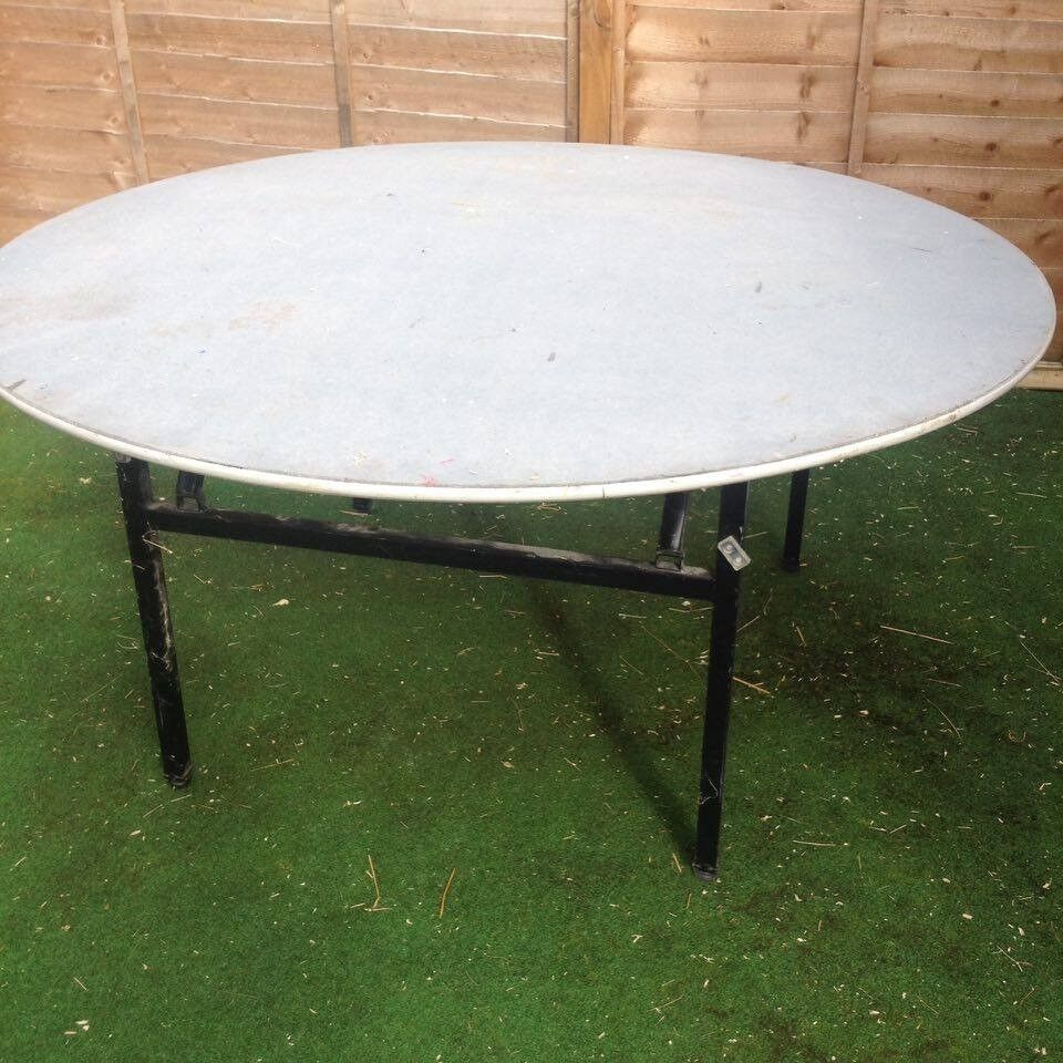 5ft round function ,banquet table