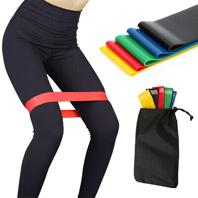 Used, Simple Fitness Equipment Yoga Sport Loop Resistance Exercise Band Home Gym  for sale  Shipping to Nigeria