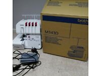 Brother overlocker m343d BRAND NEW with accessories