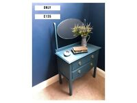 Antique Chest of drawers with mirror DELIVERY AVAILABLE