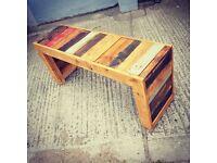 Woodsons Rustic Wildwood Bench