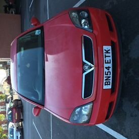 Vauxhill vectra 1.9 diesel RED car
