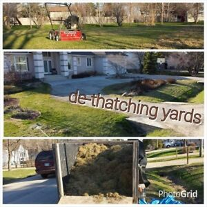 GRASS CUTTING // 2018 SPRING CLEAN UP // & NEW SOD INSTALLATION.