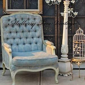 Vintage 1950s French Louis VI Bergere Styled Chair Kalamunda Kalamunda Area Preview