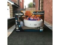 Lay Z Spa Paris Hot Tub 6 Person with underwater LED lights