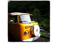 VW Bay Window 1977 RHD with pop top, RnR bed, gas hob and everything you need to get going