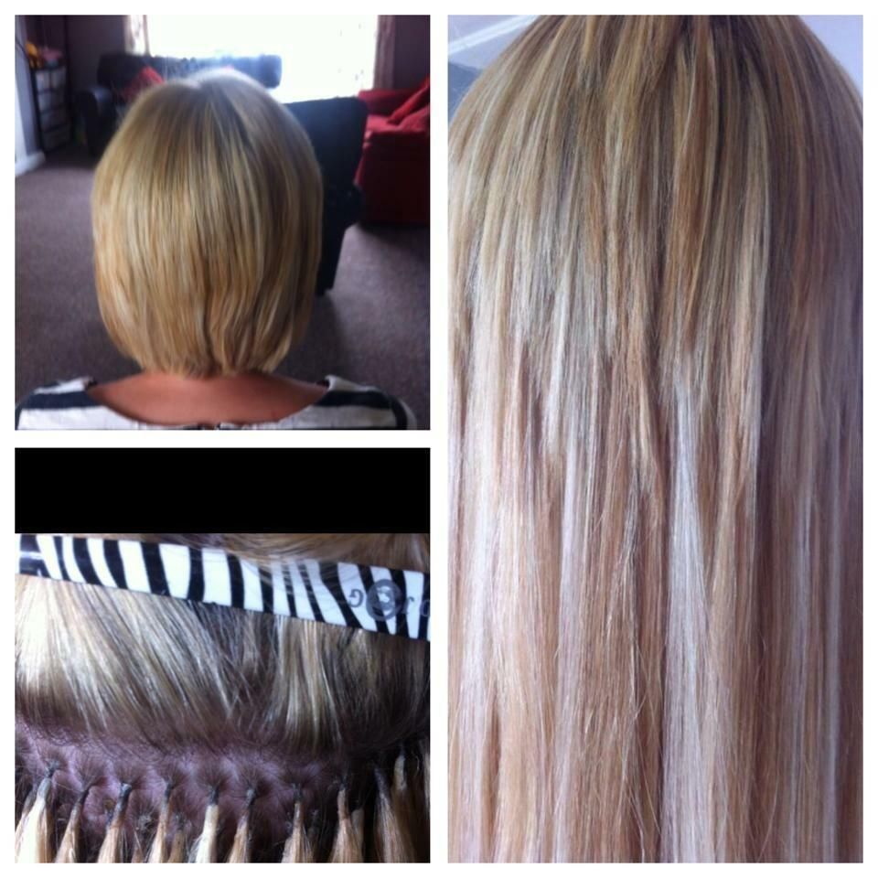 pre bonded hair extensions low