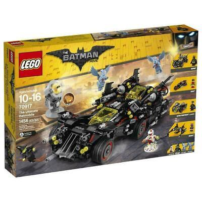 Brand new The LEGO Batman Movie 70917 The Ultimate Batmobile 2017 Retired