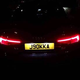Private Plate For Sale. J90KKA