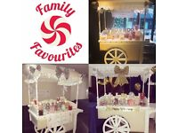LARGE CANDY CART HIRE ONLY £80