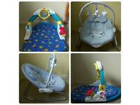 FISHER PRICE SEA LIFE ACTIVITY GYM &BRUIN baby gym/seat/chair