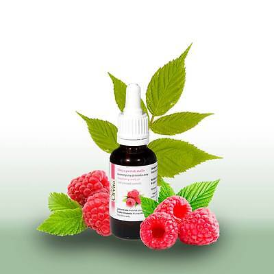 Cosmetic Raspberry Seed Oil, Cold Pressed, Ol'Vita 30ml. Olej z pestek malin.