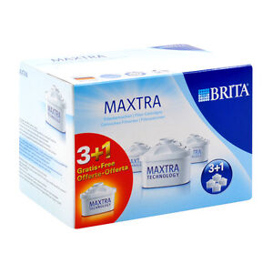 BRITA Maxtra Water Filter Refills Cartridges (Pack of 4) WF0400