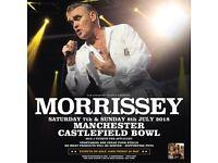 4x - Morrissey - Manchester - Cheaper than face value