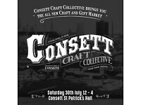 CONSETT CRAFT COLLECTIVE CRAFT AND GIFT MARKET