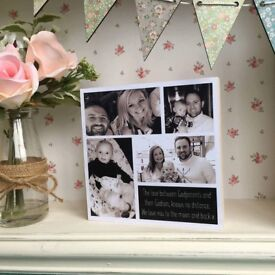 Bespoke Fathers Day Plaques fully personalised