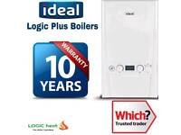 Ideal Logic+ Combi Boiler Including FREE 10 Years Full Guarantee