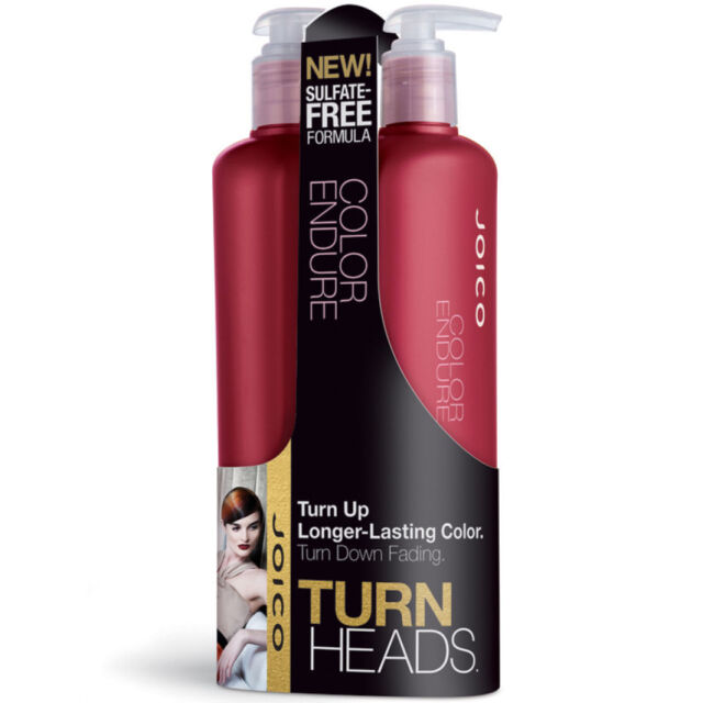 Joico Color Endure Shampoo & Conditioner 500ml Duo with Pumps