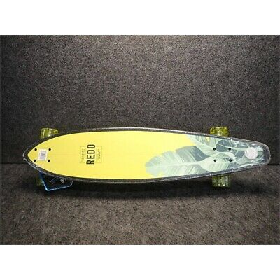 ReDo Skateboard Co. 50388 Santa Monica Bright Palms Longboard