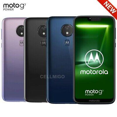 "Motorola Moto G7 Power (64GB, 4GB) 6.2"" Dual SIM 4G LTE GSM Unlocked XT1955-2"