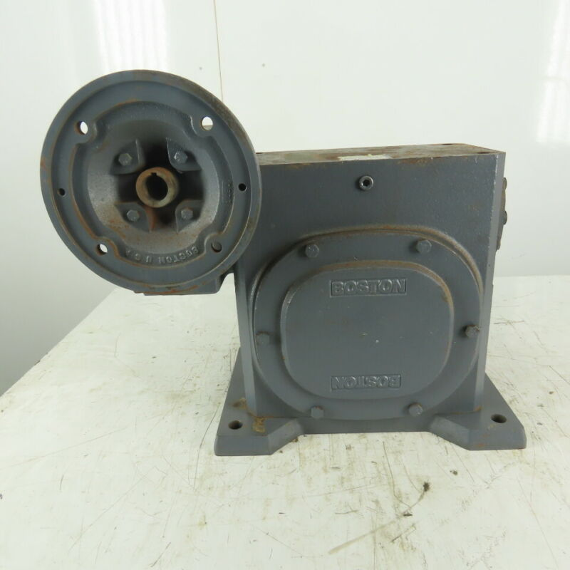 Boston Gear 150:1 Ratio 11.6RPM Output Parallel Double Reduction Gear Reducer
