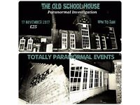 Paranormal Investigation at The Old School House, Hull