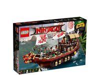 LEGO Ninjago Movie Destiny's Bounty - 70618, Brand New, Sealed