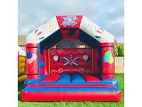 Bouncy castle 17ft x 17ft adult castle