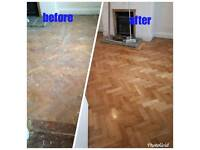 Wood floor sanding & polishing, covering all of the north and south