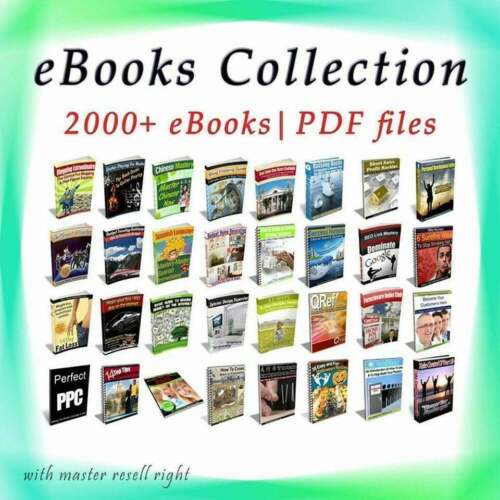 2000 Collection Package High Quality ebooks 6 GB - PDF With Master Resell Right!
