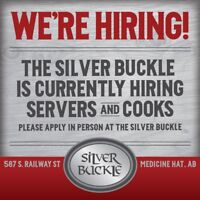 The Silver Buckle Now Hiring!