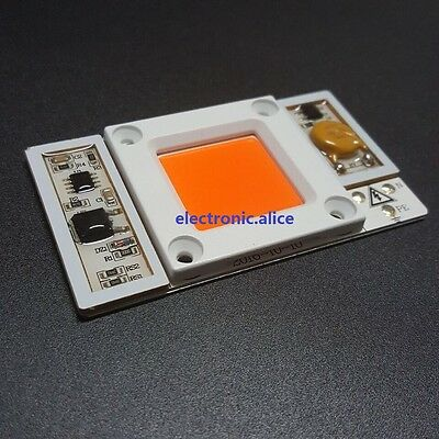 50w High Power Led Chip Built-in Driver 380nm-840nm Full Spectrum Led 170-265v