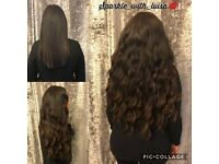 Double/Single Bonded Micro Ring Hair Extensions/ Russian/ Brazilian Hair/ Essex/ London