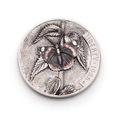 The Very First Hobo Nickel Engraved by Igor Uchevatov