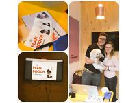 Social Media and Data input ideal for student- part time work for a dog start up!