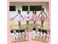 Pre school ballet class