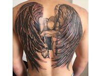 Flexible tattoo artist